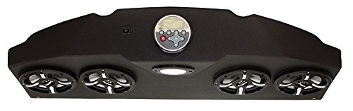 Froghead Industries YAM2304LED Four Speaker Bluetooth AM/FM Stereo System With RGB LED Speakers by Froghead Industries