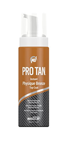 Pro Tan by Original Muscle Up Instant Physique Bronze Top Coat