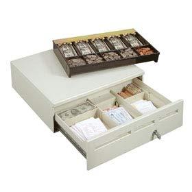 MMF 226-125161372-04 S 414 MEDIAPLUS 16 BLACK 3 SLOTS 12/24V POS Printer-Driven-MMF-Cash-Drawer-226-125161372-04-16-MediaPLUS-w-insert