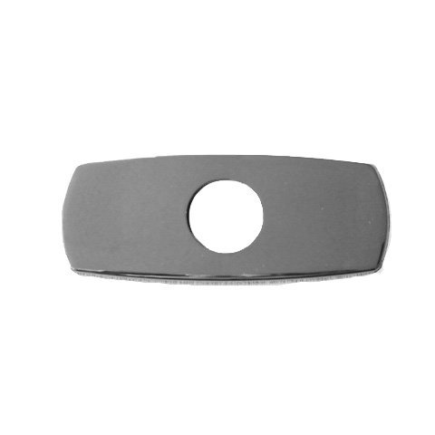 KWC Faucets Z.504.807.127 Baseplate Escutcheon, 6'', Stainless Steel