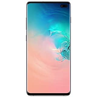 Samsung Galaxy S10 Factory Unlocked Android Cell Phone | US Version | 128GB of Storage | Fingerprint ID and Facial Recognition | Long-Lasting Battery | U.S. Warranty |  Prism White