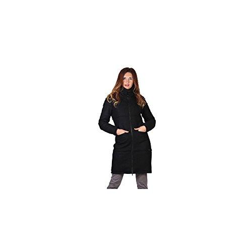ZERGATIK Abrigo Mujer GOMEN Black