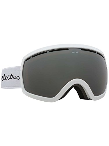 - Electric Eyewear Women's EG2 Gloss White/Brose/Silver Chrome Goggles
