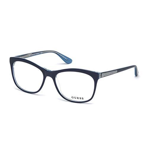 Guess GU2619 090 55 Lunettes de soleil Mixte Adulte, Bleu (Blu Luc),   Amazon.fr  Vêtements et accessoires 19eb833553a5