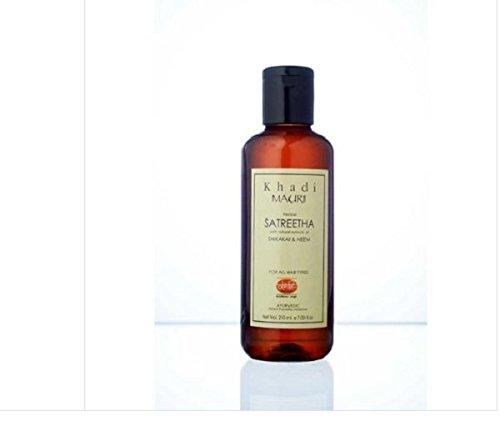 Khadi Satreetha Herbal Shampoo - Anti Hairfall & Root Strengthening - 200 Ml - Enriched With Shikakai & Neem