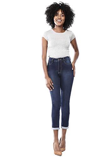 feminina Modelo Sawary Jeans Feminino