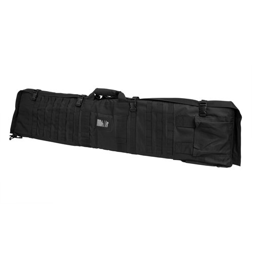 VISM by NcStar Rifle Case/Shooting Mat (CVSM2913B), Black