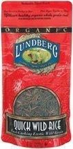 Organic Quick Wild Rice 8 oz. (Case of 12) by Lundberg by Lundberg