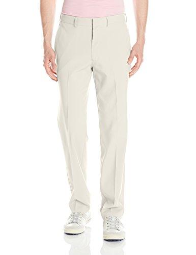 - Louis Raphael Men's Flat Front Performance Golf Pant with Comfort Waist, Peyote, 35W x 32L