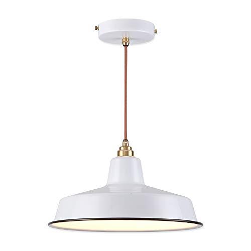 Industrial Enamel Pendant Lights