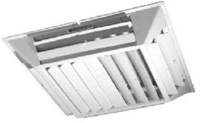 PPS Packaging Company 81703 6 Way Grille Diffuser by PPS