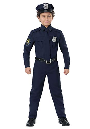 Police Costume for Kids Cop Costume Kids Large