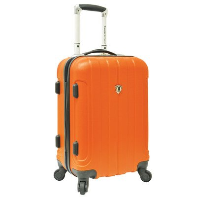 travelers-choice-cambridge-hardsided-spinner-luggage-20-orange