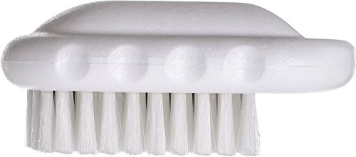 Amazon Com Carlisle 4002000 Sparta Hand And Nail Brush Polyester Bristles 2 Length X 5 Width Block Industrial Scientific