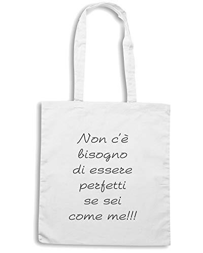 C Speed Shirt Borsa DI TDM00190 E Bianca PERFETTA ESSERE BISOGNO Shopper NON 4YCTS4