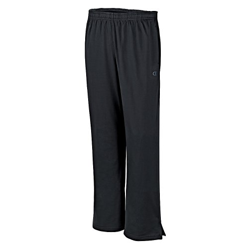 Champion Men's Powertrain Knit Training Pant, Black, Small (Pant Insulated Vapor)