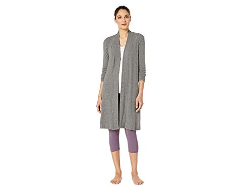 Beyond Yoga Brushed Hacci High Slits Long Duster Chaqueta ...