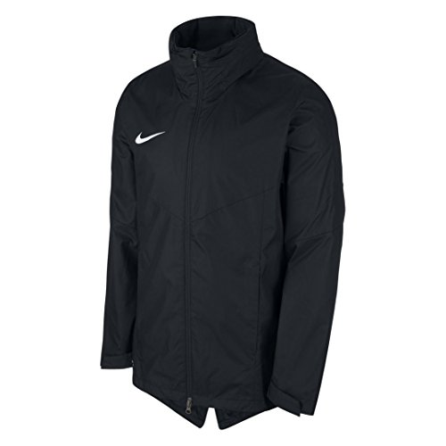 NIKE Academy 18 Rain Jacket Men's (Black, XL) (Nike Windbreaker Jacket)