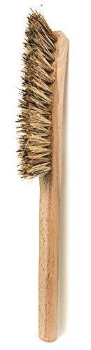 Union Fiber Brush - Redecker Union Fiber Corner Brush with Untreated Beechwood Handle, 11-Inches