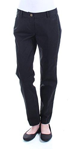 Michael Kors Woven Belt - MICHAEL Michael Kors Womens Miranda Woven No Pocket Skinny Pants Black 2