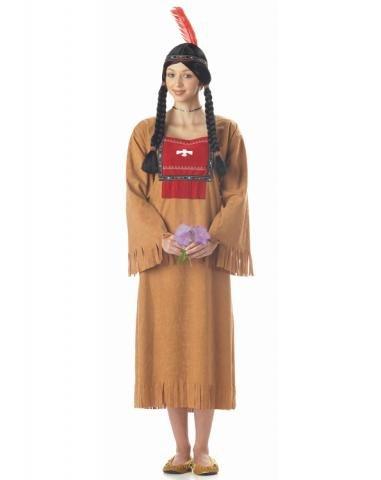 [Running Brook Adult Costume Size Medium] (1800s Dresses Costumes)
