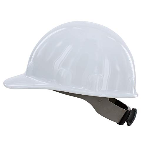 Fibre-Metal by Honeywell SuperEight Thermoplastic Cap-Style Hard Hat with 8-Point Ratchet Suspension, White