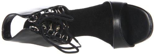 Women's Sandal Black PU 72 B Polyurethene Gala Pleaser vwxUqdznFv