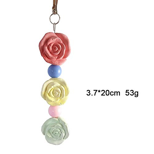 (Bird Toys - Bird Toys Pet Parrot Hamster Chewing Mineral Molar Stone Teeth Healthy Bite Resistant Vogel - Hanging Interactive Bed Girls Mirror Quaker Ladder That Items String)
