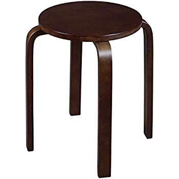 Amazon Com Linon Home Decor Stacking Stool Natural