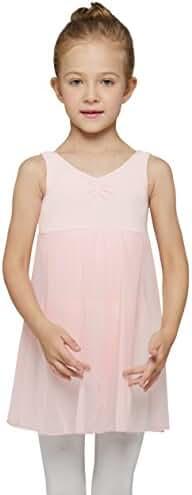Mdnmd Girls' Tank Leotard Dress