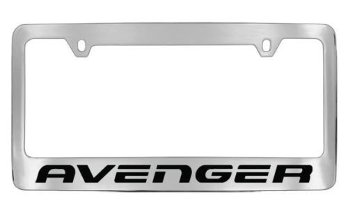 dodge-avenger-chrome-license-plate-frame-holder