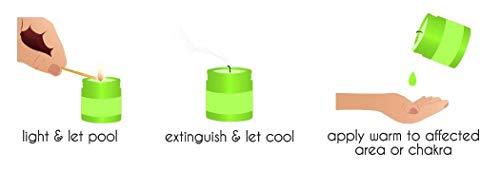 GOOD JUJU - Organic Pain Relief Massage Candle - 7 oz