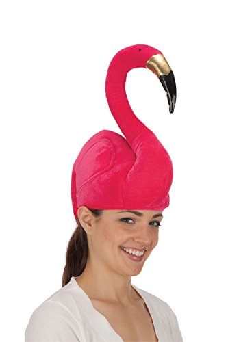 Jacobson Hat Company Women's Sitting Flamingo Hat, Pink, -