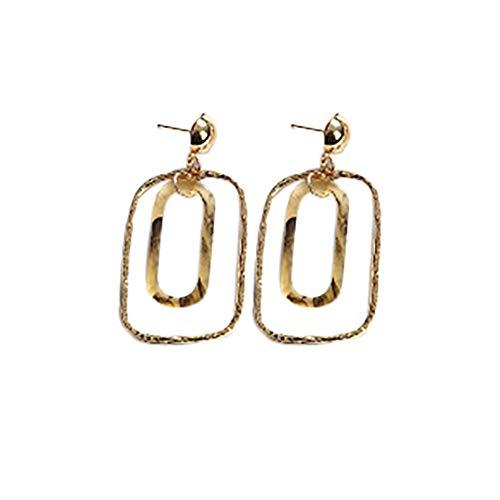 SMALLE ◕‿◕ Acrylic Hoop Earrings for Women Tortoise Resin Earrings Bohemia Statement Dangle Earring Studs for Girls - Book Stud Dog