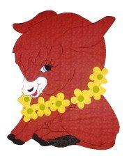 Amazon com: Baby Quilt Patterns, by Kiddie Komfies, Donkey