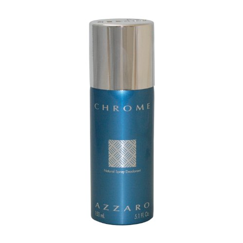 Loris Azzaro Chrome Deodorant Spray for Men, 5.1 fl. Oz. 126108