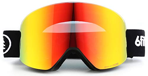 2020 Snowboard - [2020 Ski Goggles - Snowboard Goggles - Premium Snow Goggles Men and Women - 2 Seconds Magnetic Quick Change Lens, Dynamic Contrast Full REVO Coating, Multi-Layer Anti Fog Lens, UV400, OTG