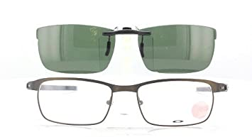 c4d19981bdf Image Unavailable. Image not available for. Color  OAKLEY TINCUP-OX3184-52X17  POLARIZED CLIP-ON SUNGLASSES