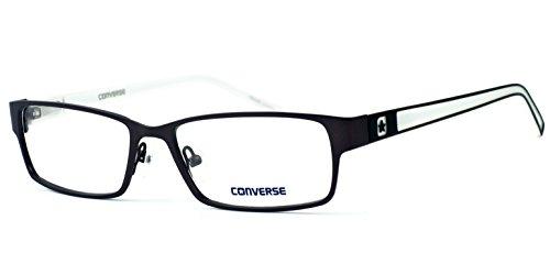 Converse G017 Lightweight Designer Eyeglasses in Dark Gun-Metal  DEMO LENS