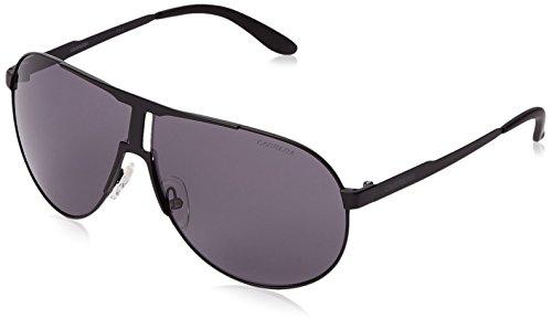 Carrera New Panamerika Aviator Sunglasses, Matte Black & Gray, 64 mm - Matte 0003 Black Eyeglasses