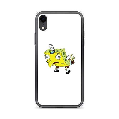 iPhone XR Pure Clear Case Cases Cover Spongebob Meme