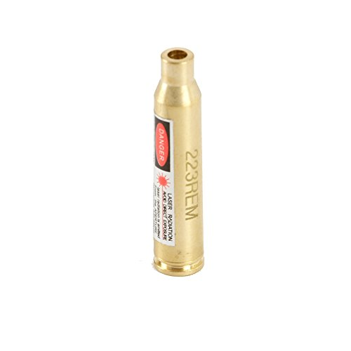 Hunter Select Boresight .223.308, 30-06, 7.62x39, 7mm, 8mm Red Dot (Brass223)