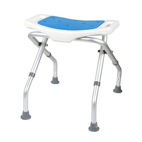 ZTTTD Cuarto de bano Taburete de Ducha Silla de bano de Asiento, bano de banera for sillas de Deslizamiento de Altura Ajustable