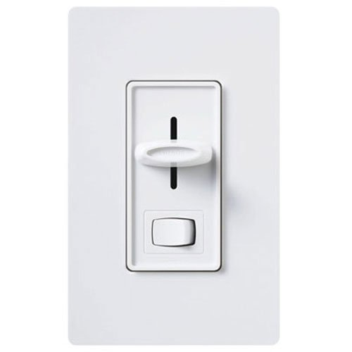 3wy Slide Dimmer - LUTRON ELECTRONICS INC SCL-153PH-WH Skyl SP/3WY White Single Pole/3-Way Dimmer
