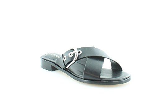 Michael Kors Cooper Sandal Women's Sandals & Flip Flops Black Size 8 - Mk Flats Black