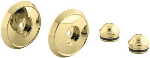 Kohler K-349-PB Forte/Bancroft Slide Bar Trim Kit, Vibrant Polished Brass