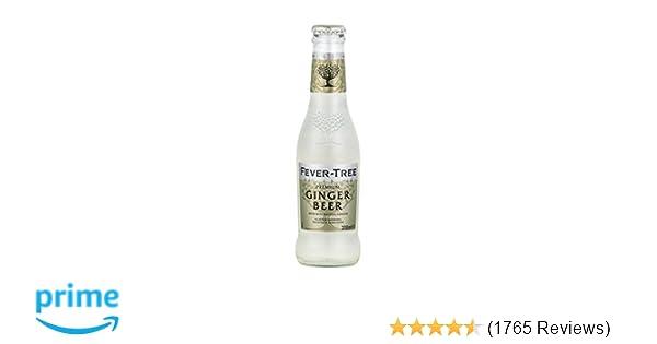 Fever Tree Premium Ginger Beer 6 8 Fl Oz Glass Bottle 24 Count