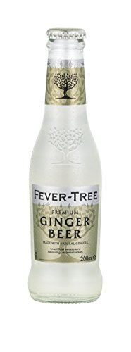 Fever-Tree Premium Ginger Beer, 6.8 Fl Oz Glass Bottle (24 Count)