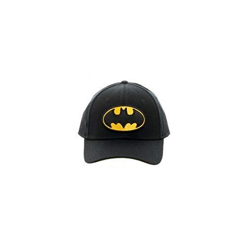 DC Comics Batman Embroidered Logo Flex Cap