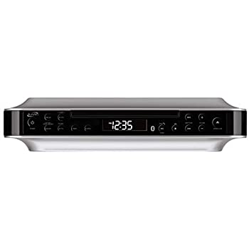 Amazon Com Gpx Kc218s Under Cabinet Cd Player With Am Fm